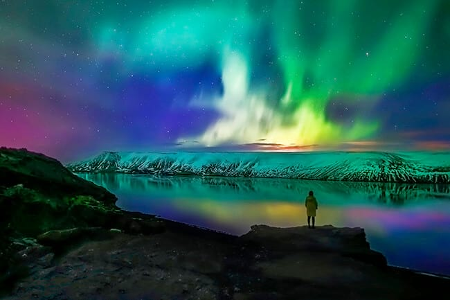 The Northern Lights Are Back In Iceland