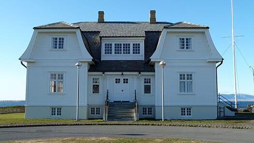 Höfði house – a large white house