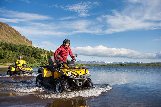 ATV adventure tour is a perfect tour how to go crazy and explore Icelandic nature