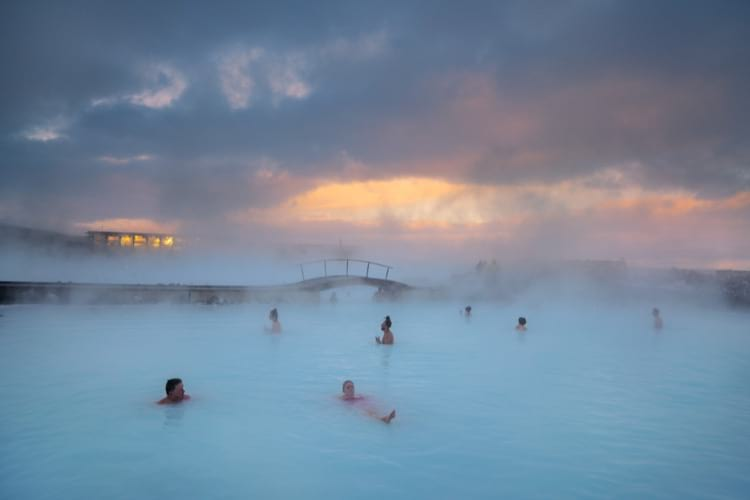 Go for the Golden Circle tour and jump into the Blue Lagoon