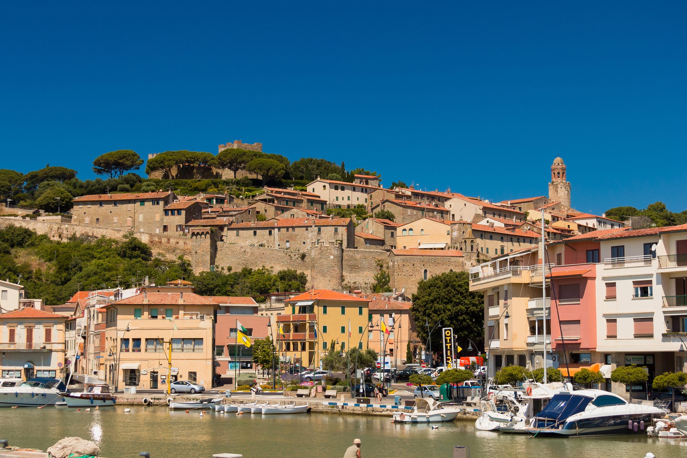 castiglione della pescaia province of grosseto tuscany Italy image