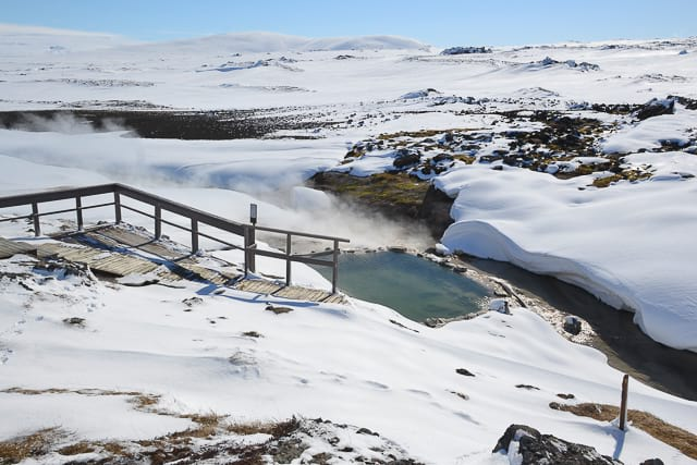 Hveravellir Geothermal pool