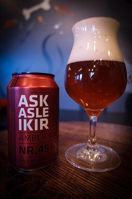 Askasleikir Icelandic Christmas beer