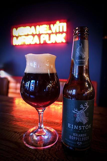Einstök Doppelbock Icelandic Christmas beer