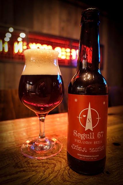 Segull 67 Icelandic Christmas beer