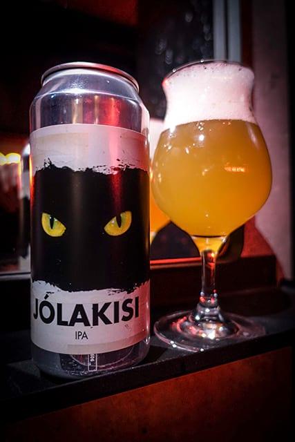 Jólakisi IPA Icelandic Christmas beer