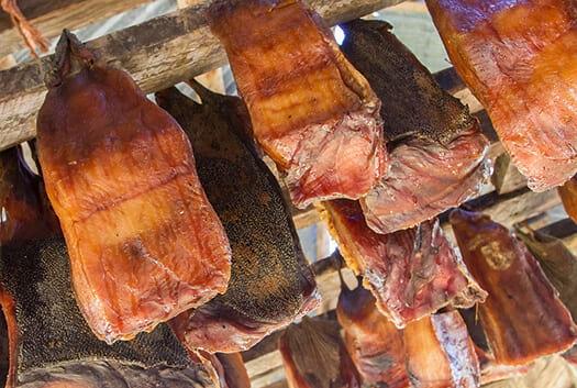 Fermented shark meat