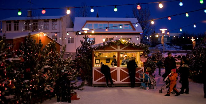 Christmas village in Hafnafjörður is a place to visit. Open every weekend in December