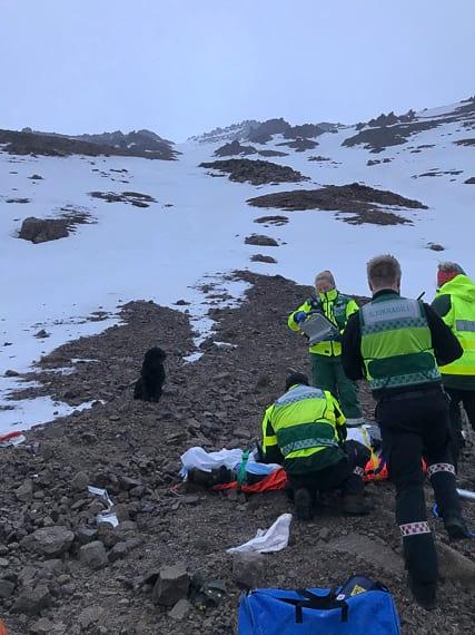 Slokkvilið Akureyrar during their work