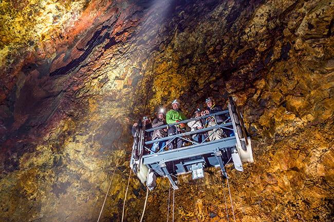 Explore ICelandic Ice caves
