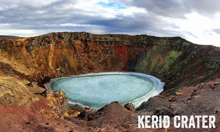 Kerid Volcanic Crater