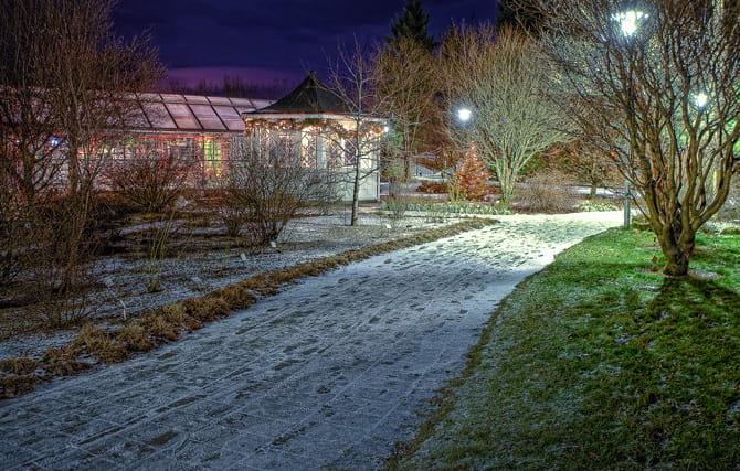 Reykjavík Botanical Gardenin Laugardalur Valley