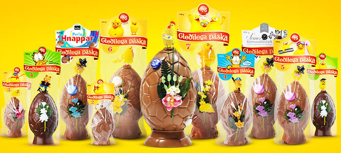 Chocolate-easter-eggs-tradition-to-eat-during-easter-in-iceland