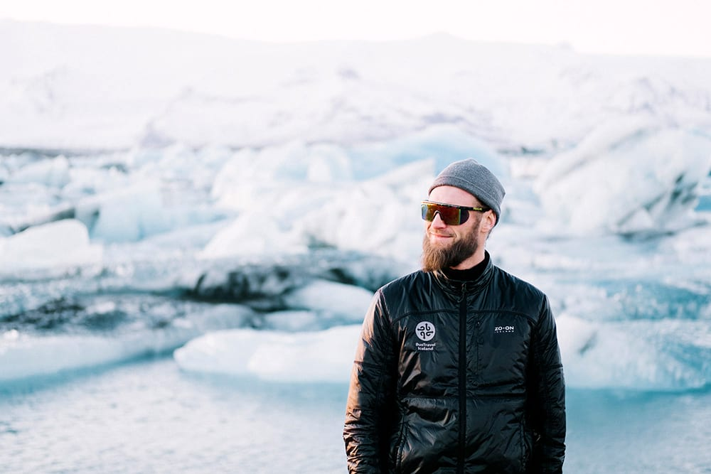 Visiting Jokulsarlon on a private tour with your expert guide