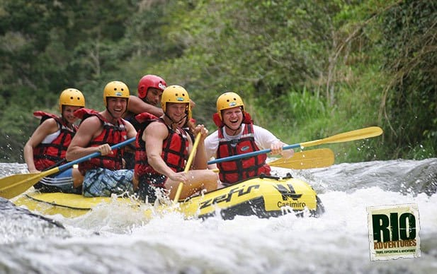 about rio adventures, white water rafting
