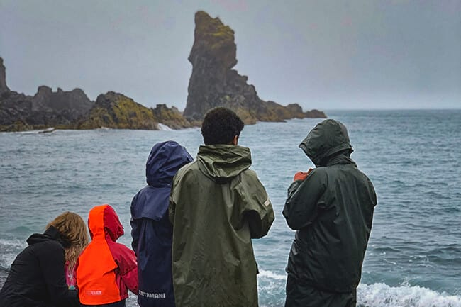 Never forget your raincoat when in Iceland
