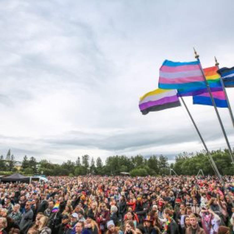 Gay pride in Reykjavik