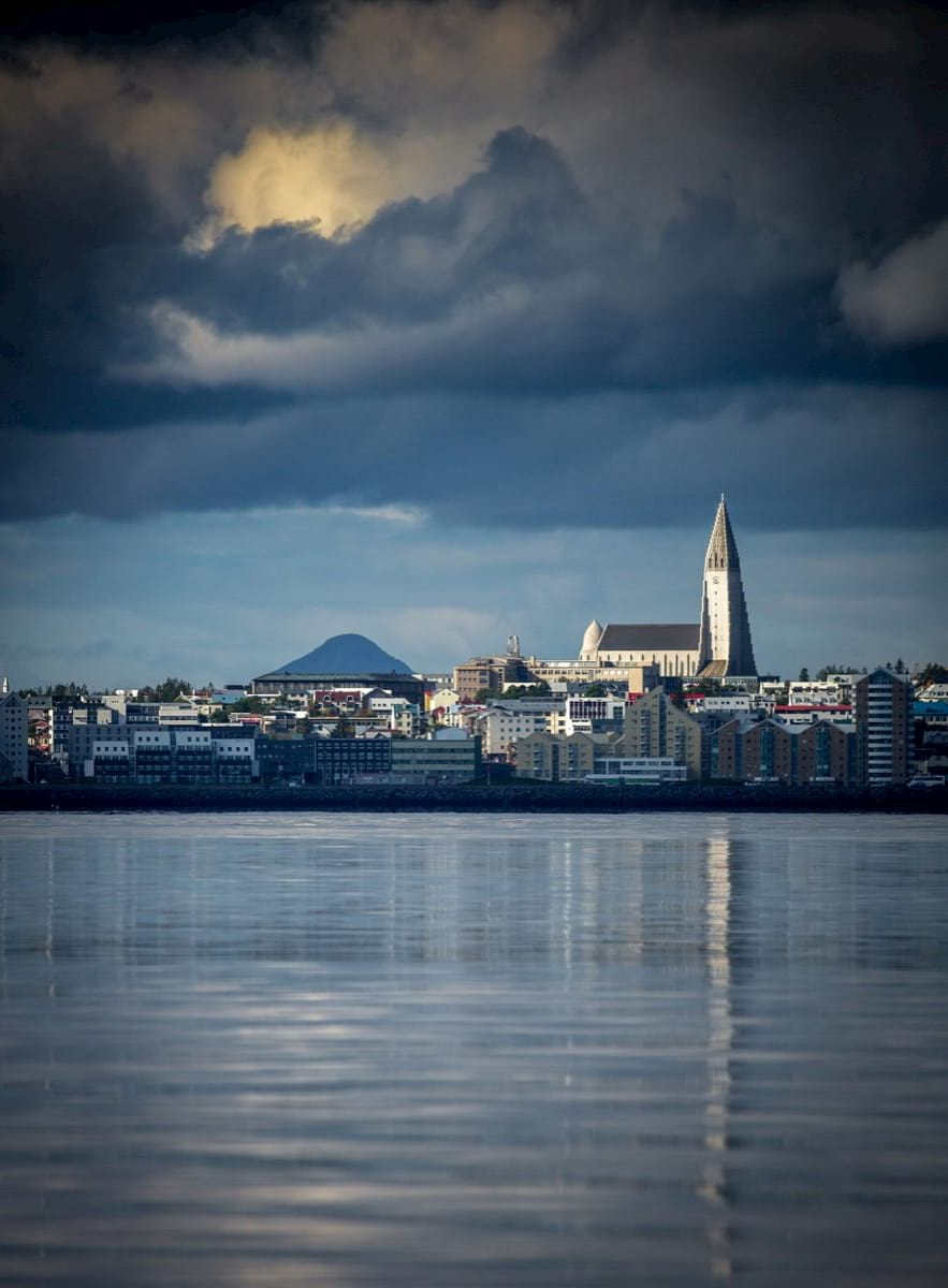 Reykjavik-Skyline-Water