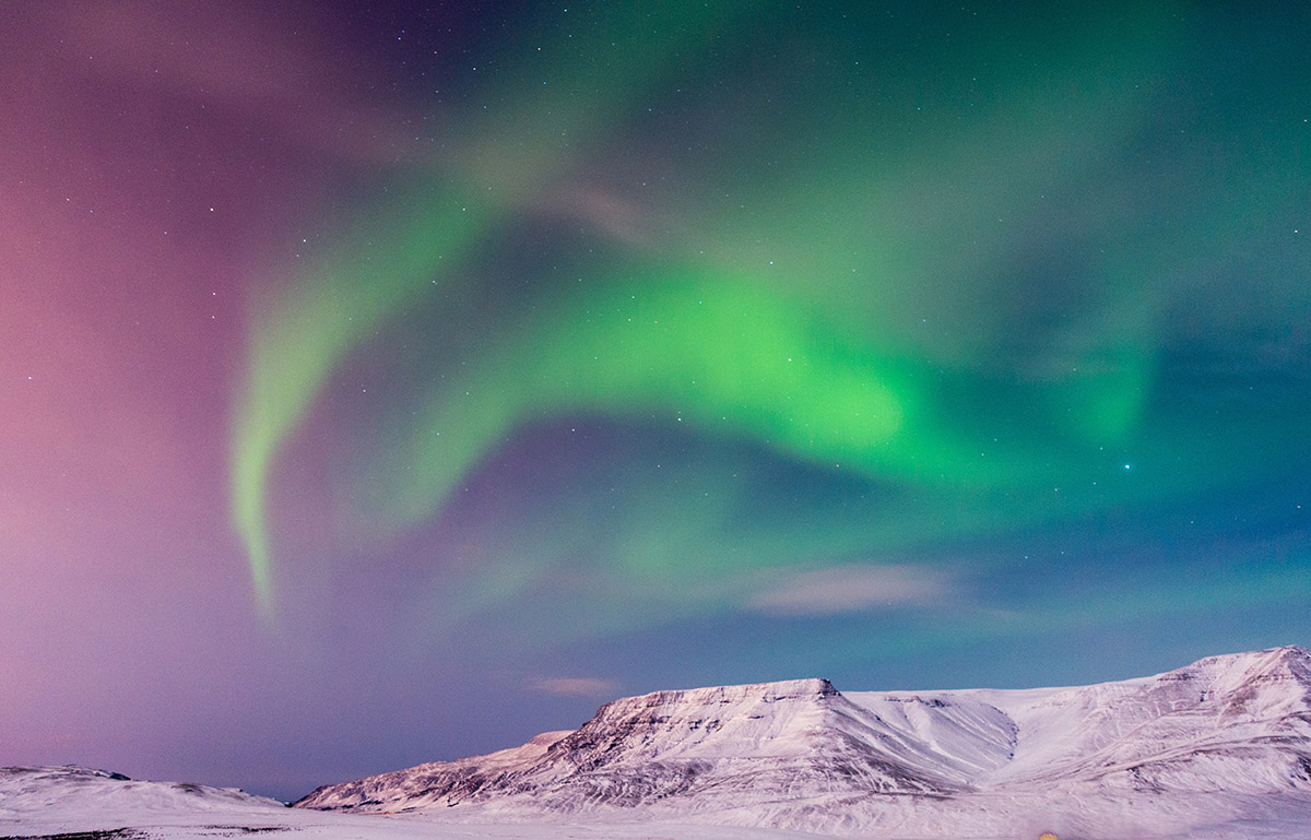 Seeing Northern Lights are Iceland's winter highlight