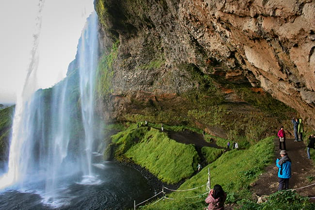 Skogafoss waterfall during your south coast tour