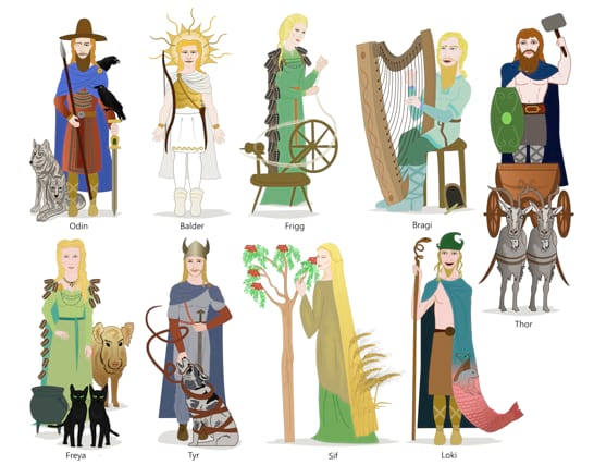 gods-from-icelandic-mythology