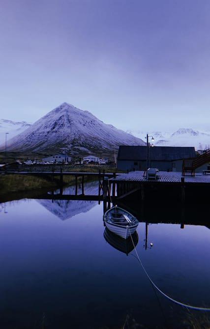 Calmness in Siglufjörður