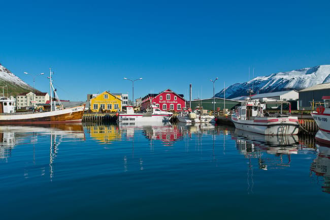 summer in siglufjordur