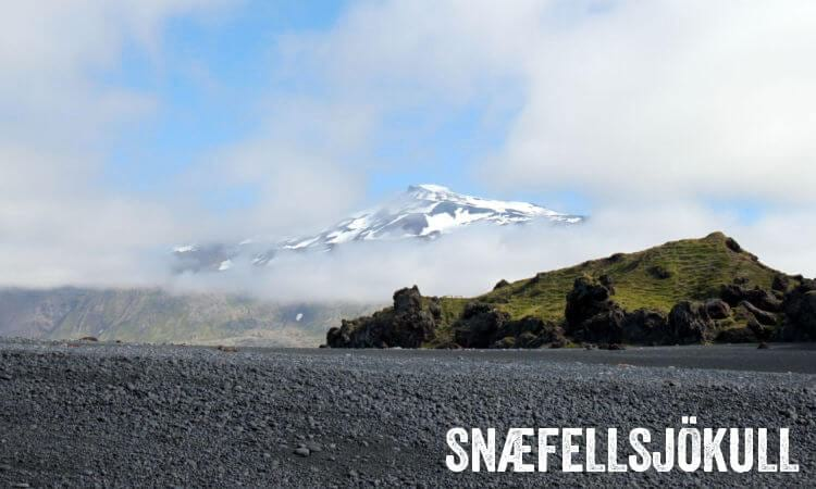 Snaefellsjokull Glacier Volcano