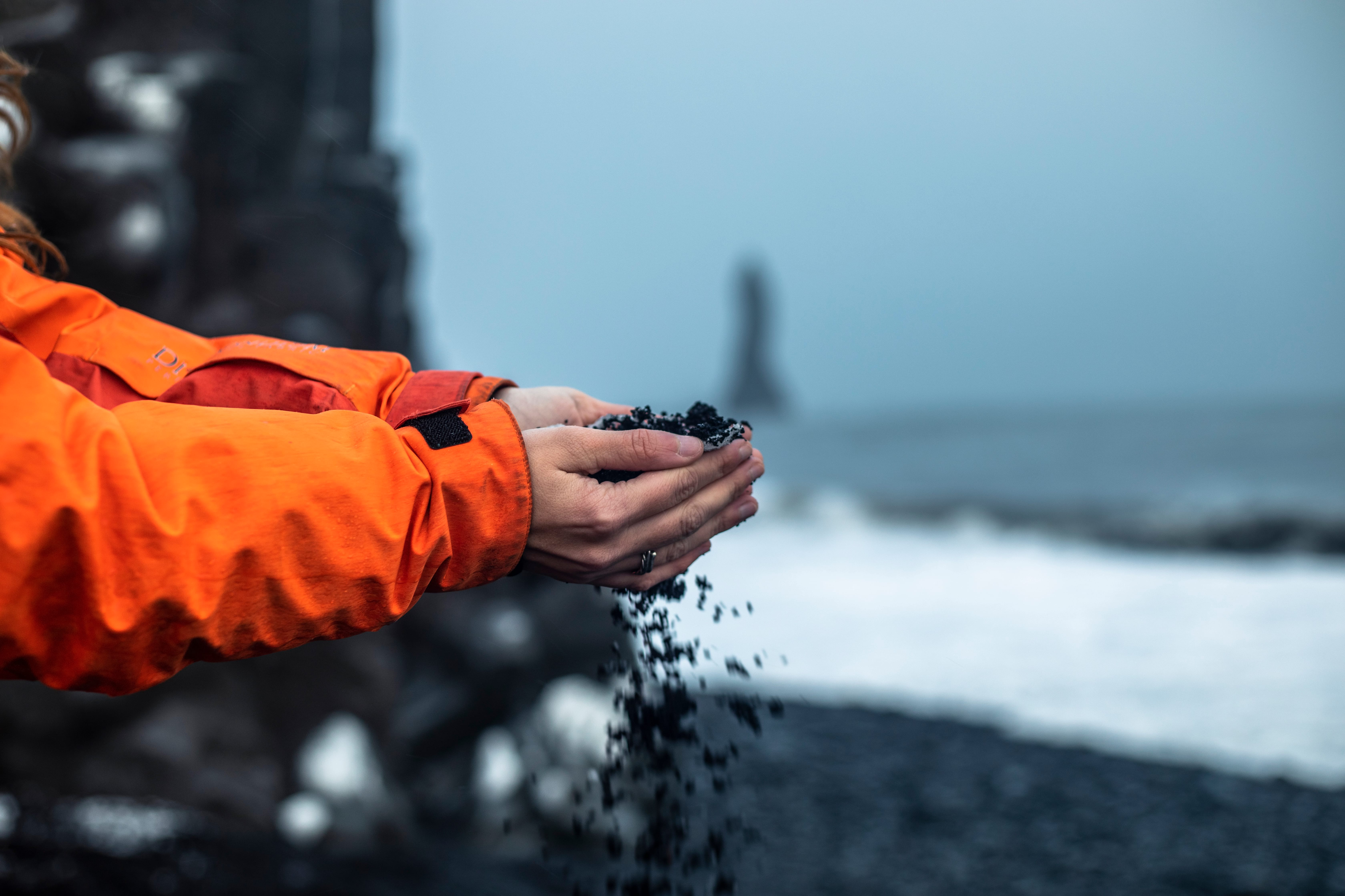 Reynisfjara, the most famous Black Sand Beach in Iceland