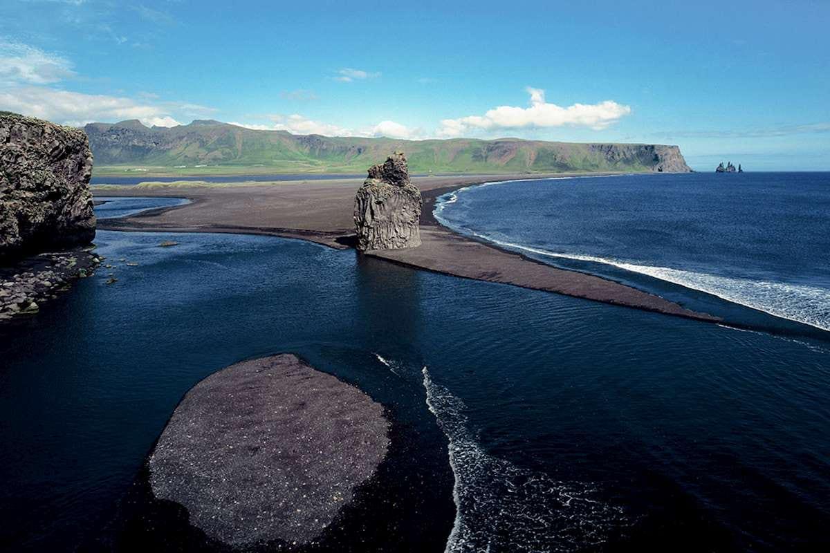 black-sand-beach