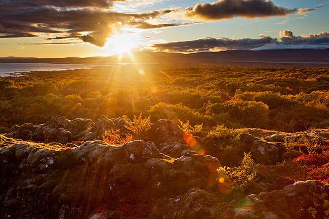 sunset-above-iceland