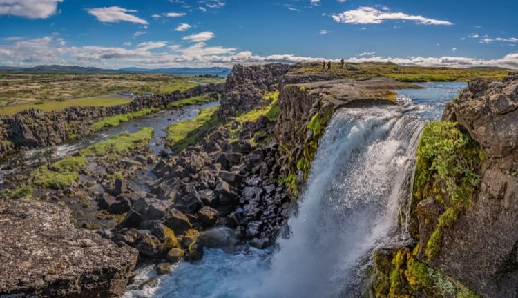 Iceland is full of waterfalls
