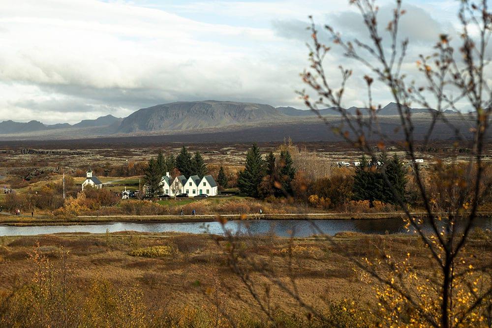 Thingvellir National Park in Golden Circle Iceland