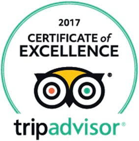 Iceland Guided Tours has certificate of excellence 2017