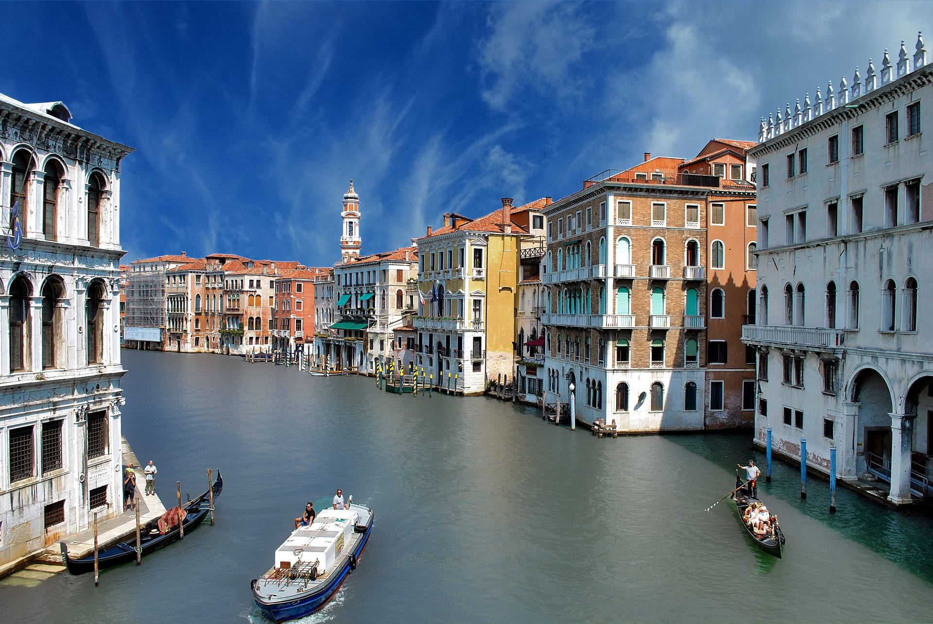 venice grand canal image