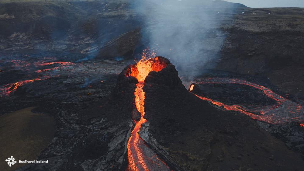 Fagradalsfjall eruption Iceland