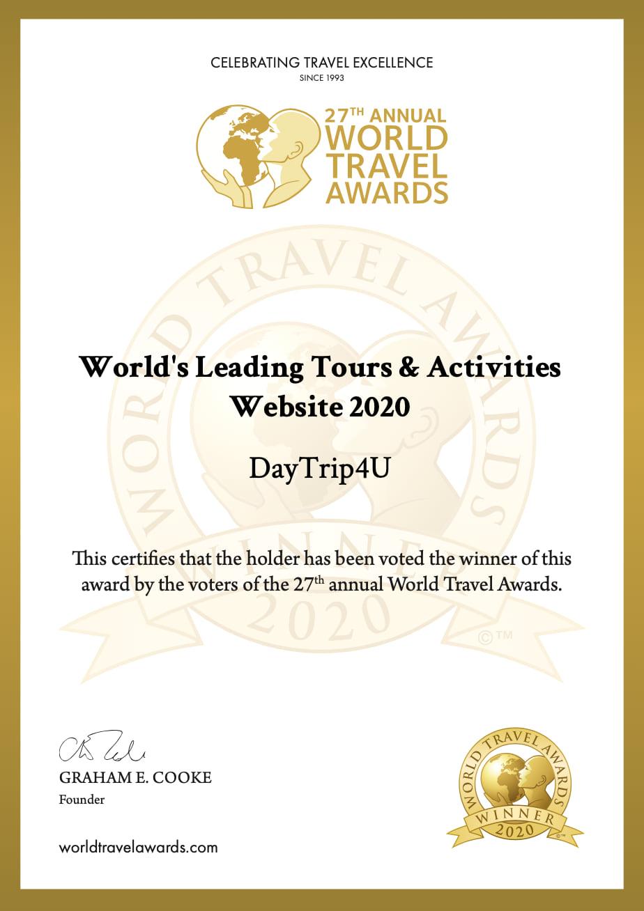 certificate wta daytrip4u